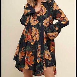Umgee Floral Dress
